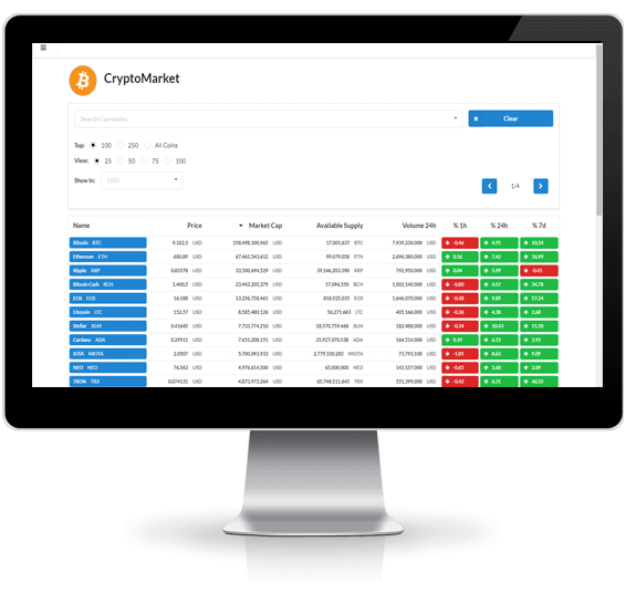 Scrypt based crypto currency market cap betting tips application